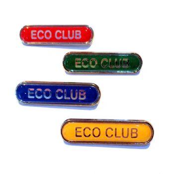 ECO CLUB bar badge